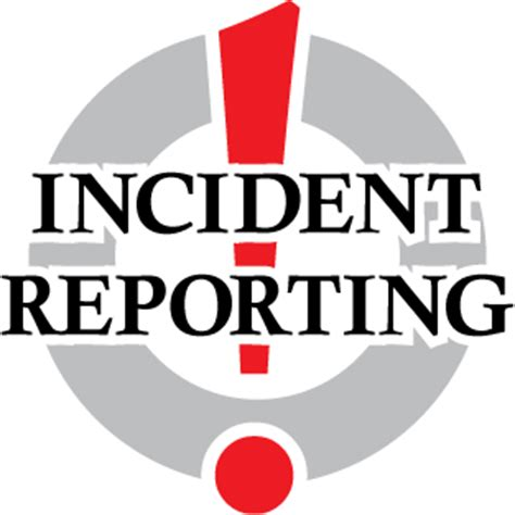 Write on incident report
